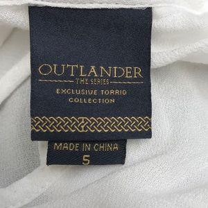 Torrid Outlander blouse